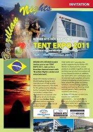 Tent Expo 2011 - invitation - Röder HTS Höcker GmbH