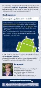 Bau' dir deine eigene App! - Fachhochschule Dortmund - Page 2