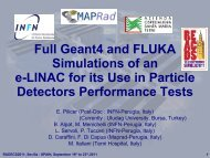 Full Geant4 and FLUKA Simulations of ane-LINAC for its Use in ...