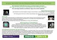 www.recodrive.eu besuchen und mitmachen
