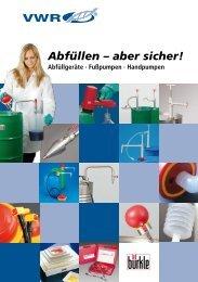 Fasspumpe aus PP - VWR-International GmbH