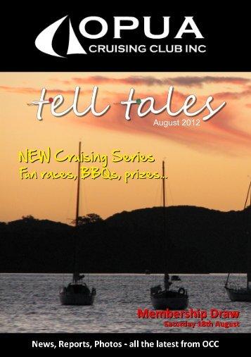 Tell Tales August 2012 - Opua Cruising Club