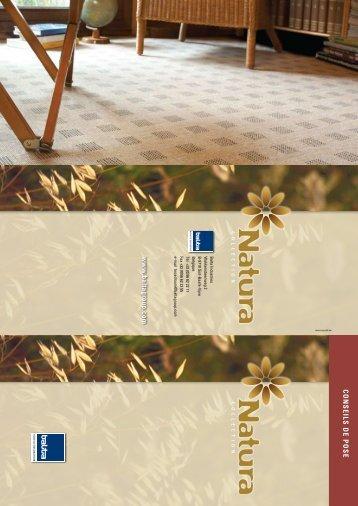 CONSEILS DE POSE www .baltagroup.com
