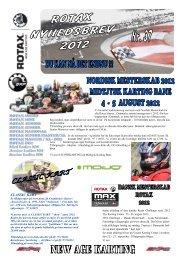 Nyhedsbrev 37 - 2012 - Rotax Max Challenge