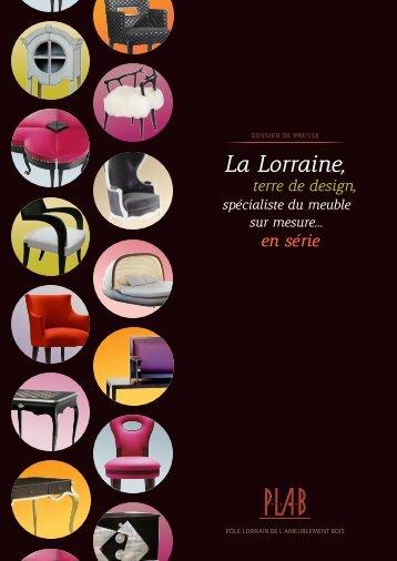 La Lorraine, - Pôle Lorrain de l'Ameublement Bois