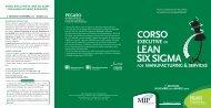 Depl Lean Six Sigma 7 - Lean Excellence Centre - Politecnico di ...