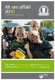Alt om affald 2010 - Tankegang