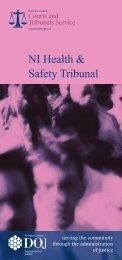 NI Health & Safety Tribunal - Northern Ireland Court Service Online