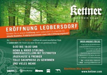 Eröffnung LEobErsdorf - Kettner