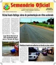 Vicinal Avaré-Itatinga: obras de pavimentação em ritmo acelerado