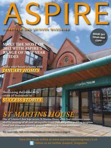 st martins house - Aspire Magazine
