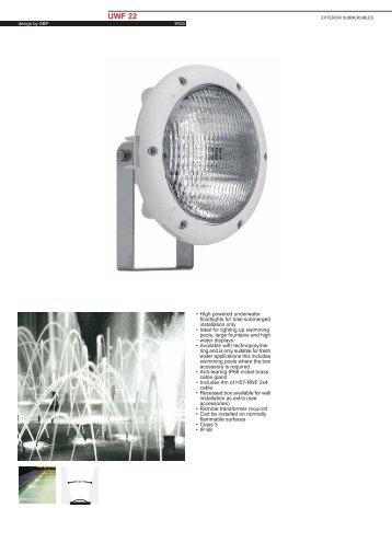 UWF 22 PAR Gx16d - Spazio Lighting