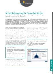Betrugsbekämpfung für Finanzdienstleister - Compliance Training