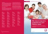 Brochure: ExcelCare Plus & MediCover Plus