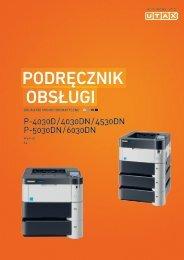 Podręcznik obsługi - Utax