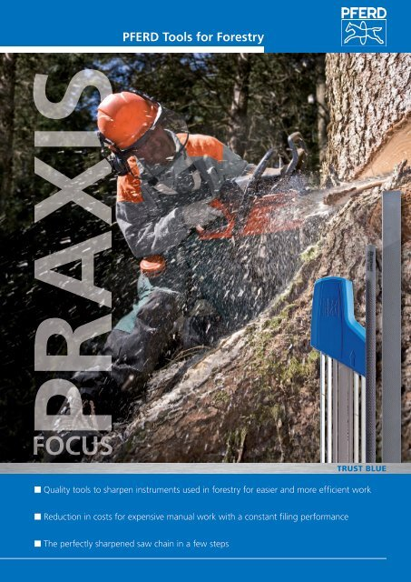 PFERD Tools for Forestry