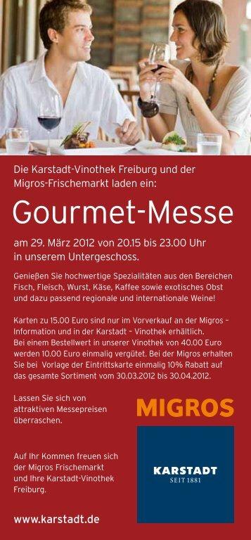 Gourmet-Messe