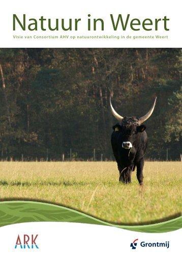 Visie Natuur in Weert 2012 - ARK Natuurontwikkeling