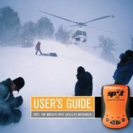 SPOT User's Guide - GMPCS Personal Communications Inc.