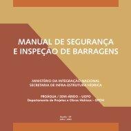 Manual de Segurança e Inspeção de Barragens 1 - Livros Grátis