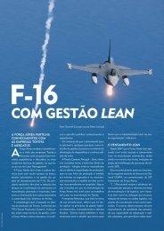 F-16 com gestão Lean