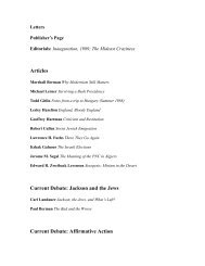Full Table of Contents