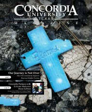 Winter '11 Edition - Concordia University