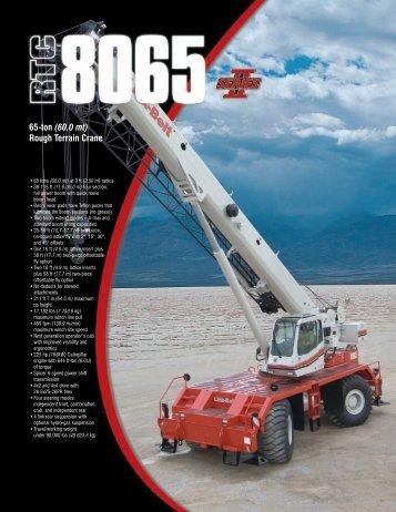 65-ton (60.0 mt) Rough Terrain Crane - Rawalwasia