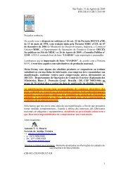 consulta pública nº22 de 26/08/2009 - Abimaq