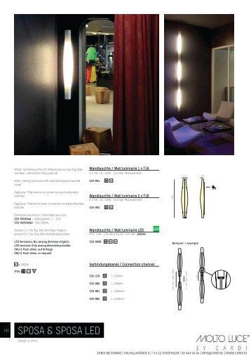 SPOSA & SPOSA LED - Cardi