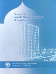 Strategic Plan for Islamic Banking Industry - State Bank of Pakistan