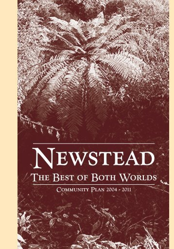 Newstead Community Plan - Waikato District Council