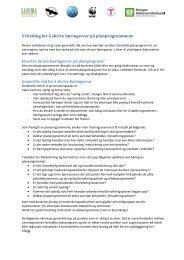 Veileding for å skrive høringssvar på planprogrammene - Sabima