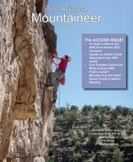 Mountaineer - Arizona Mountaineering Club