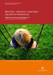 Mein Kind – Dein Kind – Unser Kind - Arbeitsgemeinschaft ...
