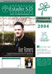 Juan Luis Cano Udaberria Primavera - Fundacionestadio.com