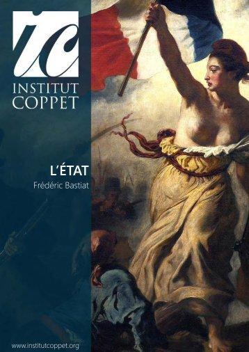 Frederic-Bastiat-LEtat.pdf - Institut Coppet