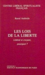 Villey Les lois de la liberté - Institut Coppet