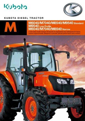 M6040/M7040/M8540/M9540 Standard M6040/M7040 ... - Se-Kra