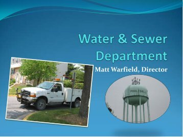 Water & Sewer Department