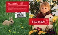 Stadtleben Magazin: 1. Ausgabe 2010 - Graz Tourismus