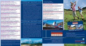 Infos Sportwelt-Gästekarte als pdf... - Skigebiet Zauchensee
