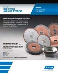 Diamond and cBN Wheels - for CNC Cutting Tool Mfg ... - Norton