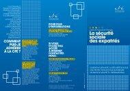 La sécurité sociale des expatriés - Caisse des Français de l'Etranger