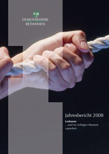 Jahresbericht Diakoniewerk Bethanien 2008 (.pdf)