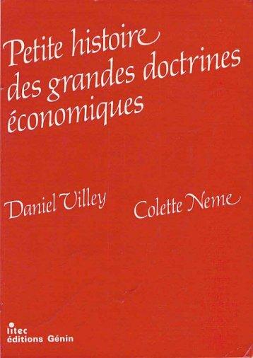 Petite histoire des grandes doctrines économiques (1) - Institut Coppet