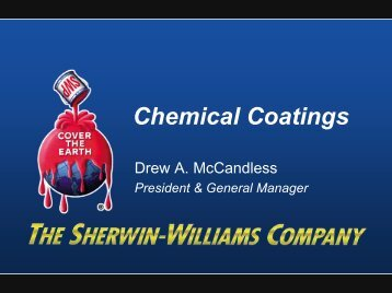 Executive Template - Sherwin Williams