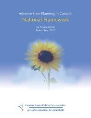 Advance Care Planning in Canada: National Framework - Speak Up