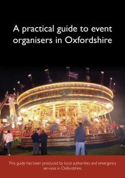 Event safety guide.indd - South Oxfordshire District Council