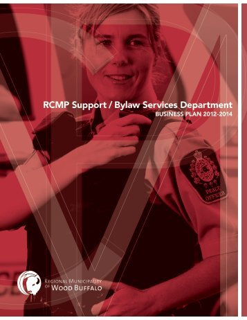 RCMP Support / Bylaw Services Department - Regional Municipality ...